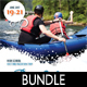 Rafting Flyer Poster Banner Bundle 2