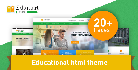 Edumart – Education Template