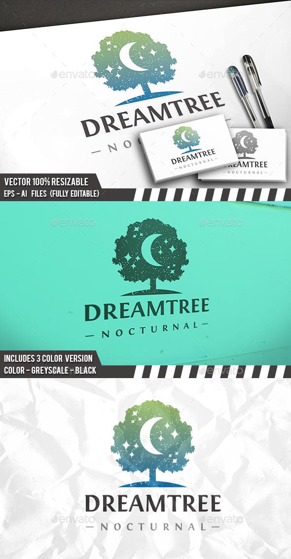 Tree Of Dreams Logo - Nature Logo Templates