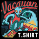 Vacation T-Shirt Design - GraphicRiver Item for Sale