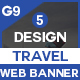 Travel Banners And Ads - GraphicRiver Item for Sale