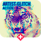 Artistic Glitch Photoshop Action - GraphicRiver Item for Sale