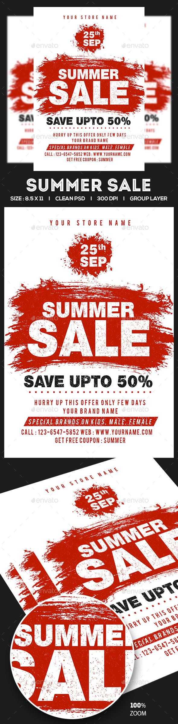 Sale Flyer - Commerce Flyers