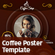 Coffee Poster - GraphicRiver Item for Sale
