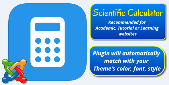 Scientific Calculator for Joomla