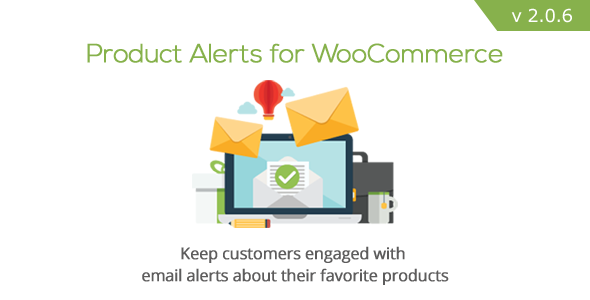 Product Alerts for WooCommerce - CodeCanyon Item for Sale