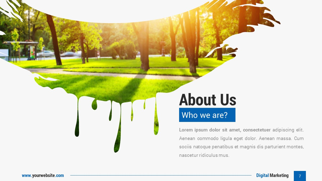 Digital Marketing Google Slides Presentation Template by Spriteit ...