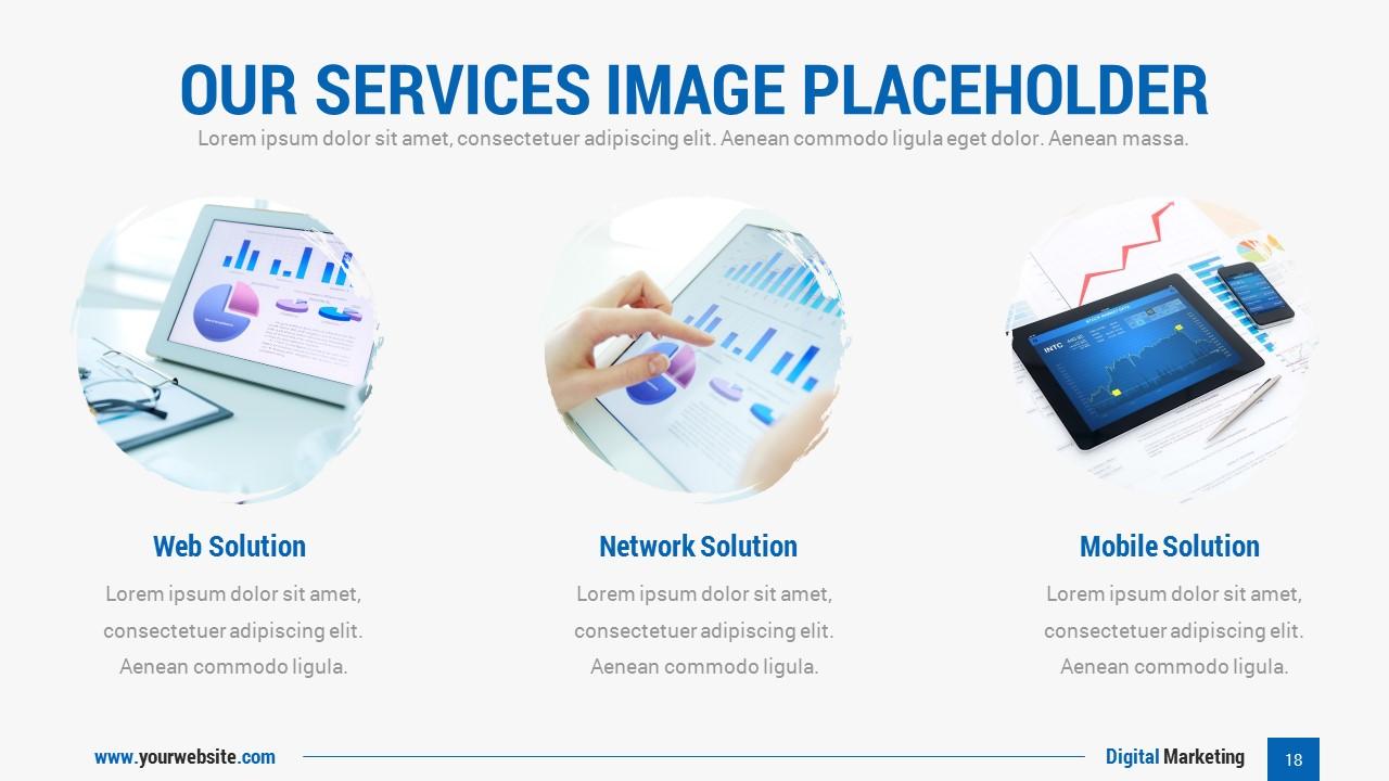 Services Marketing Powerpoint Slides