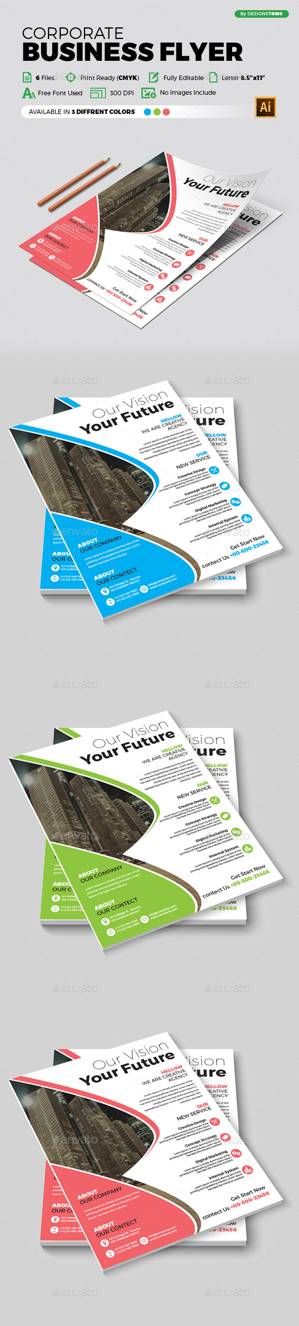 Flyer – Multipurpose 329 - Corporate Flyers