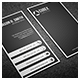 Black Tone Business Card 3 - GraphicRiver Item for Sale