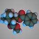 Cocaine molecule - 3DOcean Item for Sale