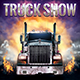 Truck Show Flyer Template - GraphicRiver Item for Sale