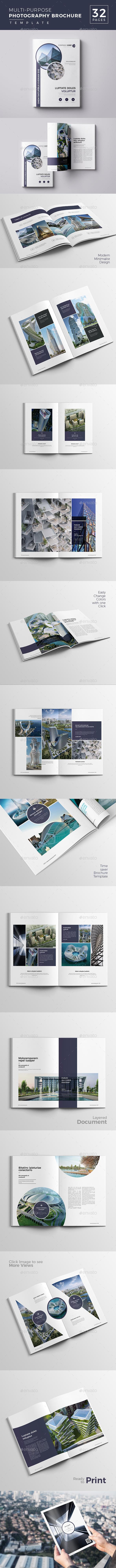 Multipurpose  Photography Brochure - Catalogs Brochures