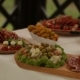 Assorted Deli Meats, Ham, Salami, Bacon on the Wood Tray - VideoHive Item for Sale