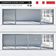Aluminium sliding door - 3DOcean Item for Sale