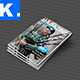 Indesign Magazine Template 1 - GraphicRiver Item for Sale