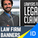 Law Firm Attorney Banners - GraphicRiver Item for Sale