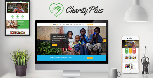 charity plus - nonprofit wordpress theme (charity) Charity Plus – Nonprofit WordPress Theme (Charity) CharityPlus preview