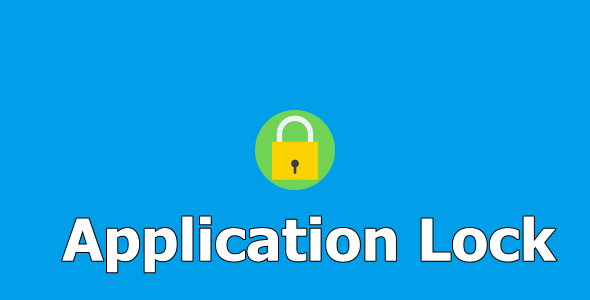 Application Lock - CodeCanyon Item for Sale
