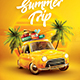 Summer Trip Flyer - GraphicRiver Item for Sale