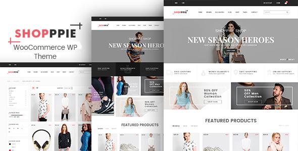 Shopppie - WooCommerce WordPress Theme - WooCommerce eCommerce