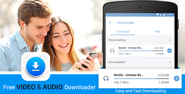 Video and Audio Downloader and Manager - CodeCanyon Item for Sale
