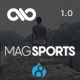 MagSports - News Editorial & Magazine Drupal 8 Theme