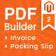 Magento Pdf Invoice, Packing Slip, Credit Memo Template Builder – Magento Pdf Builder Module - CodeCanyon Item for Sale