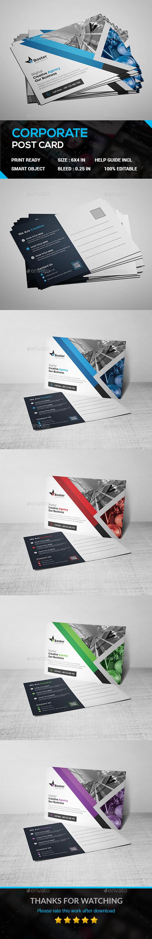 Post Card - Cards & Invites Print Templates