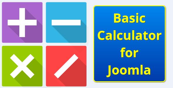 Basic Math Calculator for Joomla - CodeCanyon Item for Sale