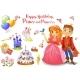 Birthday Design Elements - GraphicRiver Item for Sale