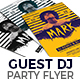 Guest DJ Flyer Nulled