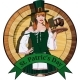Irish Waitress with Beer Label - GraphicRiver Item for Sale
