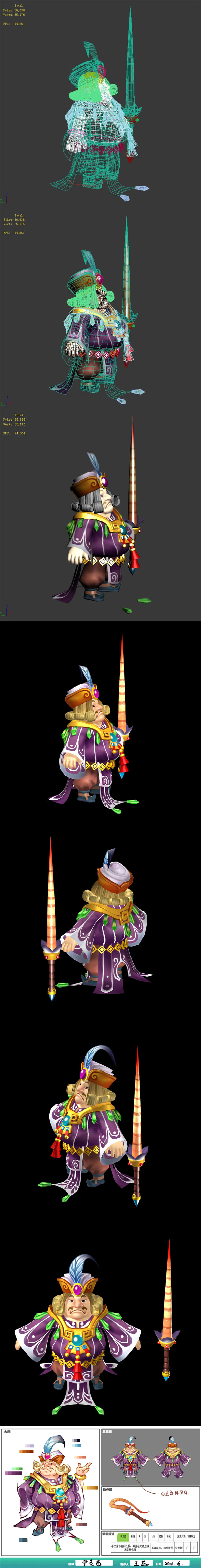 The characters of the game - Iksi - 3DOcean Item for Sale
