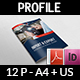 Company Profile Brochure Template Vol.44 -12 Pages - GraphicRiver Item for Sale