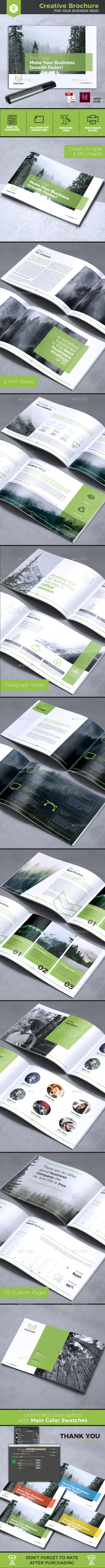 Creative Brochure Vol. 26 - A4 Landscape - Corporate Brochures
