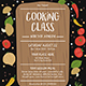 COOKING CLASS Flyer Template - GraphicRiver Item for Sale