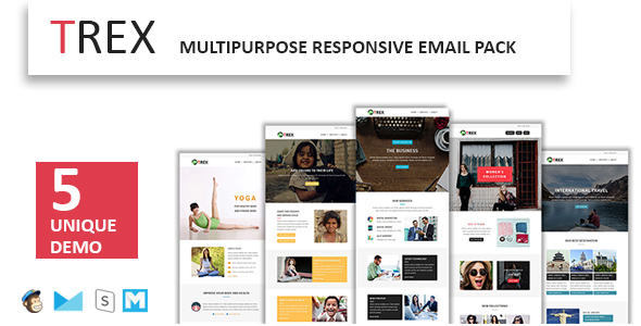ThemeForest TREX Multipurpose Responsive Email Pack 20178881