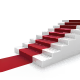 Stairs and Red Carpet - GraphicRiver Item for Sale