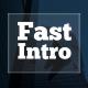 Fast Typographic Intro