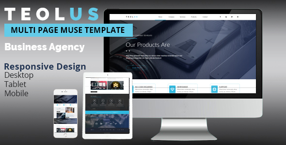 TEOLUS Corporate Muse Template