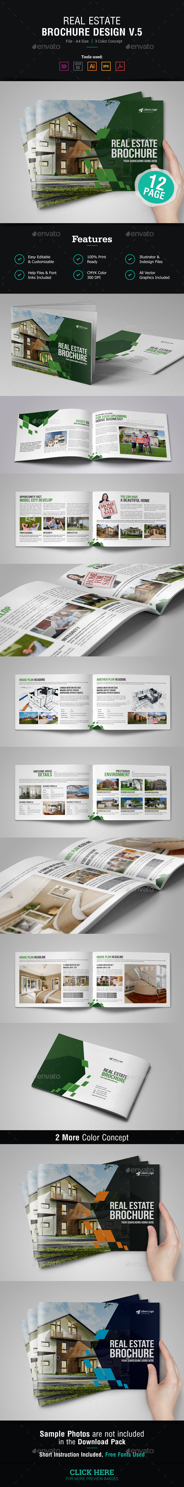 Real Estate Brochure Design v5 - Corporate Brochures