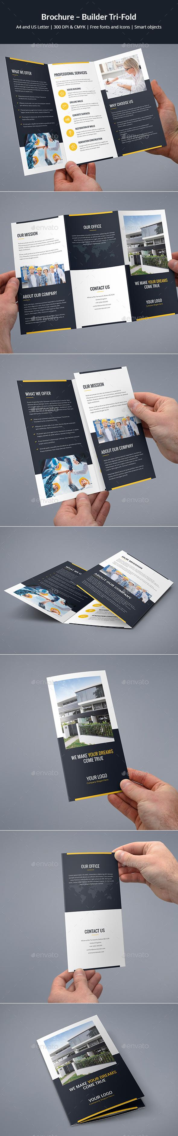 Brochure – Builder Tri-Fold - Corporate Brochures
