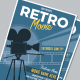 Retro Movie Flyer