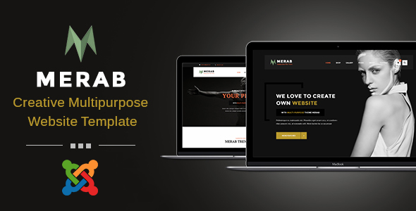 Merab - Creative Multipurpose Joomla Template
