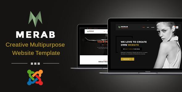 Merab - Creative Multipurpose Joomla Template - Creative Joomla