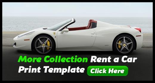 Rent a Car Templates