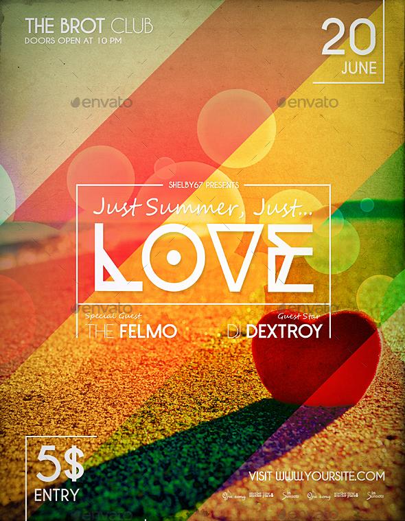 Summer Love Flyer / Poster