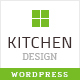 Kitchen - Design Responsive WordPress Theme Nulled