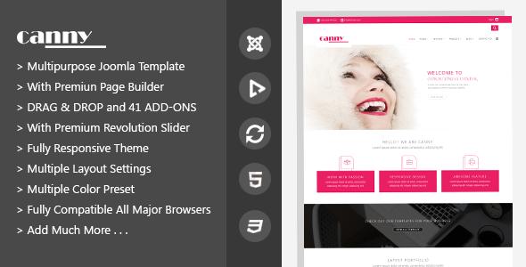 Canny | Responsive Multipurpose Joomla Template - Business Corporate
